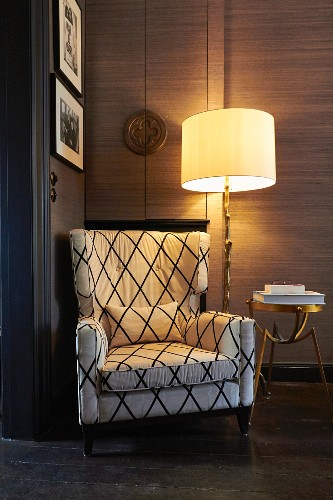 Comfortable Reading Chair Next To Lit