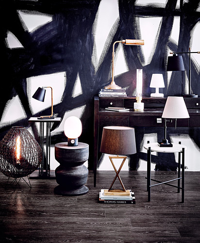 Different table lamps