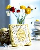 Eierschalen-Mosaik als Deko für Ostern