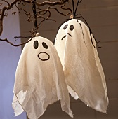Two home-made ghosts