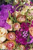 Partial view of a bouquet