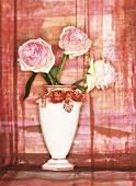 Eden rose in a rose bowl