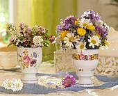 Posies of spring flowers