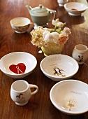 Various bowls