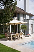 House with sun terrace and swimming pool