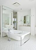 Hotel bathroom (Casa Angelina, Praiano, Italy)