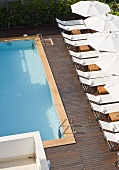 Swimming pool at Hotel Casa Angelina (Praiano, Italy)
