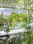 Balcony of Villa Bamboo, Southern France