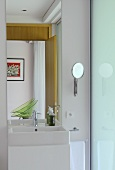 Bathroom in Villa Bamboo, Southern France