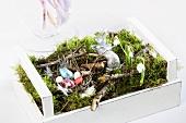 An Easter nest as a centrepiece