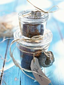 Spice mixture in two jars to give as gifts