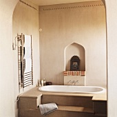 A bathroom in Middle Eastern style