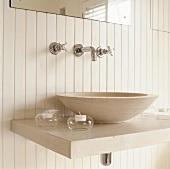 A wash basin