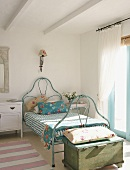 Bed in child's bedroom