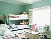 Etagenbett im Kinderzimmer
