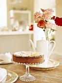 Kuchen auf Kuchenständer