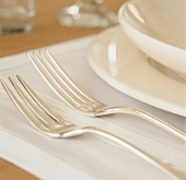 Detail of a place setting