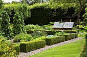 An English vegetable garden