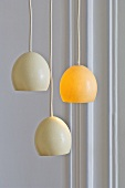 Lights made from ostrich eggs