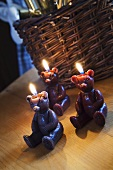 Bear candles (Christmas decorations)