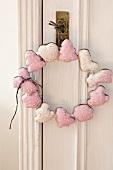 Lebkuchen door wreath