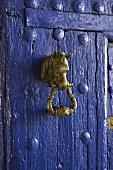 Door knocker at villa Venta de Don Quijote (La Mancha, Spain)