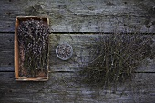 Lavender (dried stems and leaves)