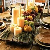 Table decoration for Thanksgiving