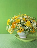 Pretty Spring Flower Arrangement