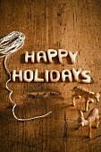 Happy Holidays Decoration