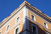Mediterranean apartment in classical style with an apricot facade