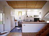 Offene Küche im Designerstil