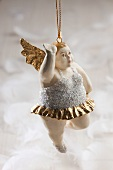 A Christmas angel (Christmas tree decoration)