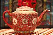 Eine chinesische Teekanne