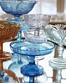 Decorative glass bowls
