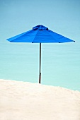 A sunshade on the beach