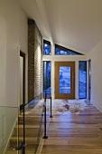 Hallway of house