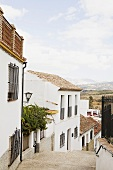 Frigiliana, a mountain village in the province of Malaga, Spain