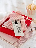 Hand-made shopping gift voucher