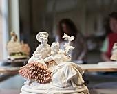 Rococo china ornament