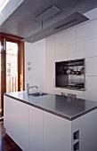 Küchenblock mit Spülbecken