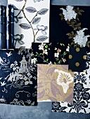 Tapeten-Collage