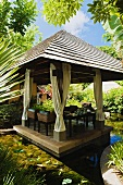 Pavilion at the Hotel and Ayurveda Spa Shanti Maurice (Mauritius)