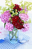 Colourful bouquet of Sweet William