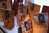 Paper bags as Advent calendar
