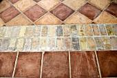 Detail patterned terra cotta tile