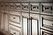 Detail kitchen cupboards