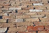 Detail brick driveway