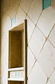 Detail of Tile in Bathroom