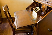 Vintage fold out desk